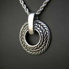 Ocelový přívěsek - Pagan Circle I. Odkaz na WEBSHOP: http://www.ocelovesperky4u.cz/ocelove-privesky/ocelovy-privesek-pagan-circle-i