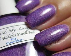 Liquid Sky Lacquer - Polish Addicts Purple Soul - $7