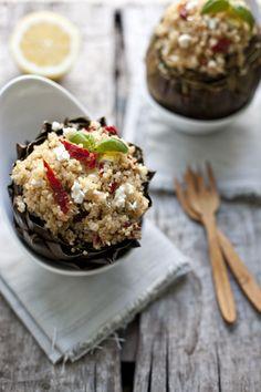 Mediterranean Quinoa-Stuffed Artichokes