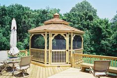 gabezo in deck ideas   How To Best Use An Outdoor Gazebo