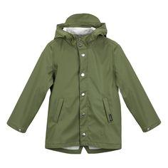 Raincoat Elephant Man, Green