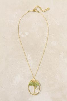 Moringa Necklace by Nakamol. Looks like a tree of life to me.
