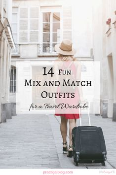 These mix-and-match outfits for travel show you how a small wardrobe can go a long way with the right pieces. Shop my mix-and-match travel wardrobe now! Capsule Wardrobe Examples, Wardrobe Basics, Professional Wardrobe, Work Wardrobe, Small Wardrobe, Travel Wardrobe, Denim On Denim Looks, Black Denim, Minimalist Wardrobe