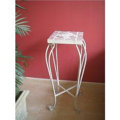 Pedestal Forja Mosaico #Ambar #Muebles #Deco #Interiorismo #Outlet | http://www.ambar-muebles.com/pedestal-forja-mosaico.html
