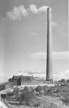 "Tacoma Washington copper smelter - thus the ever-present ""Tacoma Aroma"" ... cam"