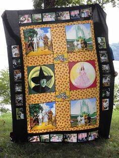 Wizard of Oz quilt