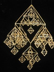 """DIY himmeli kit """"Family himmeli"""" (traditional Finnish design) (reed straw, length - cm), ca 600 pcs) Christmas Mood, Christmas Crafts, Christmas Decorations, Diy Letters, Star Diy, Paper Crafts Origami, Handmade Ornaments, Craft Supplies, Diy Crafts"""