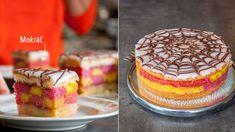 Punčový dort je naprostá klasika, bez které si řada z nás neumí představit tu správnou návštěvu cukrárny. Už jste někdy přemýšleli, že byste si ho připravili doma? Tak teď už víte jak! :) Vanilla Cake, Sweet Recipes, Tiramisu, Food To Make, Deserts, Food Porn, Food And Drink, Sweets, Bread