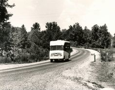 Mississippi Library Commission bookmobile. #bookmobile