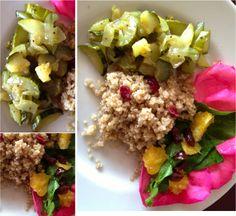 QUINOA EN TÉ Cobb Salad, Quinoa, Food, Easy Recipes, Eten, Meals, Diet