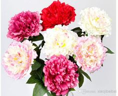 Wholesale cheap simulation plants online, wedding - Find best high copy european single branch peony simulation plants artificial flowers 12peices/lot at discount prices from Chinese decorative flowers & wreaths supplier on DHgate.com.