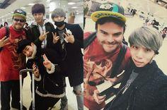 El Grupo idol de Corea del Sur SHINee se saca una foto con una gran celebridad de Hollywood sorprendiendo a los fans   Espacio Kpop