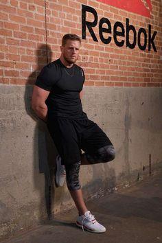 NEW YORK, NY - JUNE 23:  NFL player J.J. Watt attends the Launch of J.J. Watt's New Signature Sneaker, The Reebok JJ I at ArtBeam on…