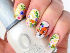 Cienistość.pl: Konferencja Meet Beauty i wiosenne paznokcie z lisem