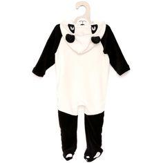 9€ kiabi Surpyjama déguisement animal                                                                                                                                                                                                  panda Bébé garçon