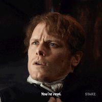 GIFs for the STARZ Original Series Outlander. Outlander Gifs, James Fraser Outlander, Outlander Season 3, Outlander Book Series, Sam Heughan Outlander, Diana Gabaldon, Outlander Characters, Cat Valentine Victorious, Sam And Cat
