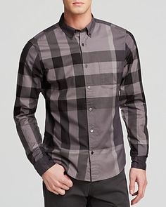 ecd0dcd22fb Burberry s signature take on plaid gives their Fred check button down shirt  (available in five