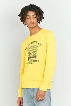 Levi's Records Solar Yellow Crewneck Sweatshirt