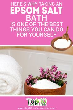 Here's Why Taking an Epsom Salt Bath is One of the Best Things You Can Do For Yourself!