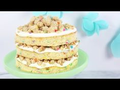 How to Make a Funfetti Birthday Cake! - YouTube