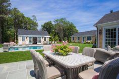Edgartown Home Rental - SULLS   Martha's Vineyard Vacation Rentals. Outdoor seating.
