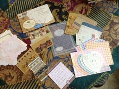 Decorated Envie - Swap I got quite a haul, all the way from Japan. My 1st International swap from Izumi. Wow was I blown away. Thank You!