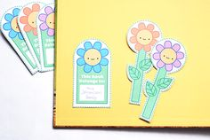 Printable Flower Garden Reading Companions - share the joys of reading outdoors with your kids!