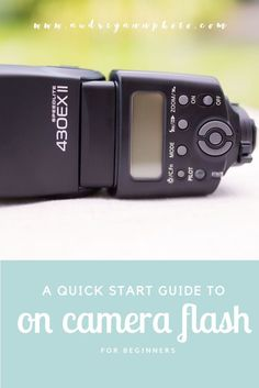 Step by step guide to using on camera flash indoors. Great tutorial on getting started with your external flash unit! Click through to read the full tutorial!