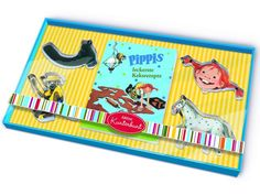 Pippi Longstocking Cookie Cutters | €9.95