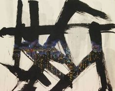 """Saatchi Art Artist Jieun Park; Painting, """"A little talk-HK"""" #art"""