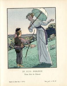 """""""Je Suis Perdue Robe d'ete de Cheruit"""" ((Brissard))"""