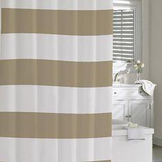 Hampton Stripe Shower Curtain