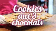 ▶ Cookies aux 3 chocolats (les meilleurs cookies du monde) - Vidéo Dailymotion