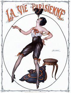 Illustration by Leo Fontan For La Vie Parisienne 1910s