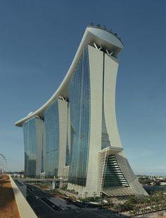 Marina Bay Sands,Courtesy of  safdie architects