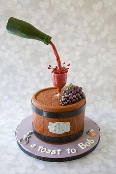 Wine cake...