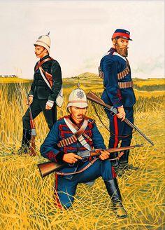 Trooper, Natal Hussars, Zulu War