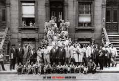 Jazz Portrait - Harlem, New York, 1958 Kunstdruk