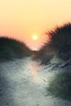 *Walk toward the sun...get to the beach