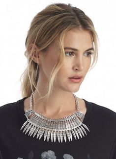 Tribal Statement Collar Necklace
