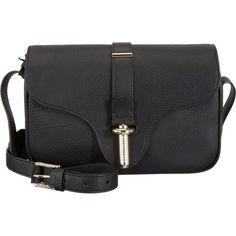 Balenciaga Tube Clasp Black Crossbody Bag