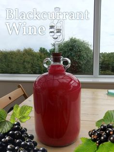 Recipe for Blackcurrant wine - often said to be the best fruit wine aside from traditional grape wine #wine