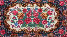 VINTAGE KILIM RUG with a floral pattern Moldavian kilim rugs, wrongly called Bessarabian kilims rugs, are famous for their vivid flower patterns. Each village has its own patterns but styles can roughly be separated into northern and southern.The difference is in the rug's background pattern. The south style kilim rugs usually have a black background without any pattern, sometimes ivory, while the north style kilim rugs have geometric patterns on the background. They are always handmade from…