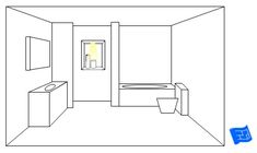 Bathroom lighting ideas - Overhead shower lighting provided by downlights.Click through to the website for more bathroom lighting ideas and home design advice. Bathroom Curtain Set, Bathroom Mat Sets, Relaxing Bathroom, Shower Curtain Sets, Fabric Shower Curtains, Bathroom Ideas, Bath Ideas, Shower Lighting, Bathroom Lighting