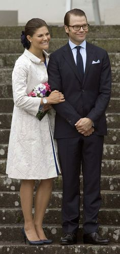 Princess Victoria and Daniel