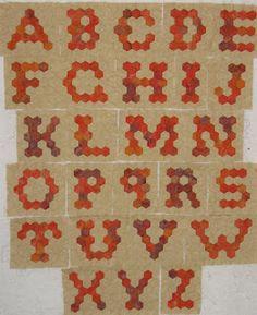 The Inklingo Sampler: Hexagon Alphabet