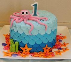 Under the sea Birthday cake!
