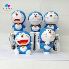41.69$  Buy here - http://aliz4w.shopchina.info/go.php?t=32625983058 - Kissen 5pcs/set Anime Cartoon Cute Doraemon Stand By Me 80 Anniversary PVC Action Figure Collectible Model Toy Doll Kids Gift  #magazineonlinewebsite
