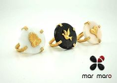 Rings - Genesis collection #handmadejewelry #MarMaroJewelry #marblejewelry #silverjewelry #fashionjewelry #jewelry Marble Jewelry, Silver Jewelry, Handmade Jewelry, Fashion Jewelry, Rings, Instagram Posts, Collection, Trendy Fashion Jewelry, Ring