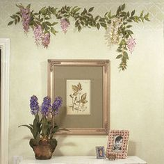 Hand Painted Vines On Walls | Mural Projects - Handpainted ...